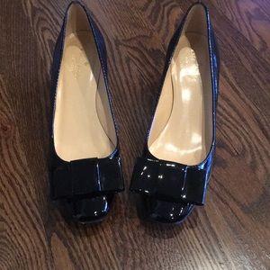 Kate spade ♠️ black patent shoes